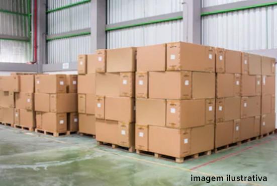 Logística de estoque de armazenagem